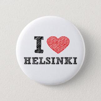 I Love Helsinki 2 Inch Round Button