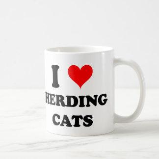 I Love Herding Cats Coffee Mug