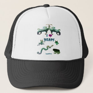 I Love Herps Trucker Hat