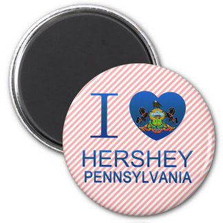 I Love Hershey, PA Magnet