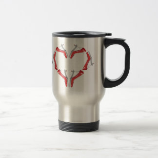 I Love High Heels Shoe Addict Travel Mug
