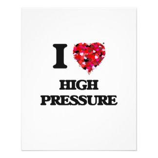 I Love High Pressure Full Color Flyer
