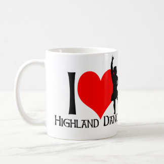 I love Highland Dancing Boy Coffee Mug