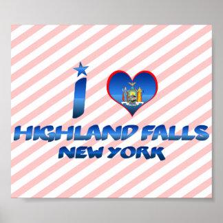 I love Highland Falls, New York Poster