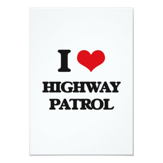I love Highway Patrol Card