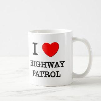 I Love Highway Patrol Coffee Mug