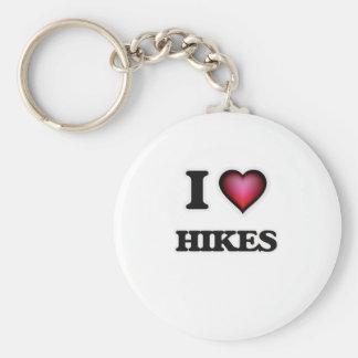 I love Hikes Keychain