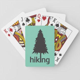 I Love Hiking ( Hike ) Poker Deck