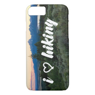 I Love Hiking Phone Case