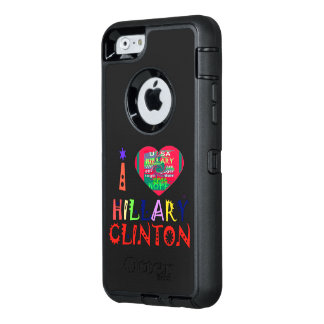 I love Hillary for USA Presidential election OtterBox iPhone 6/6s Case