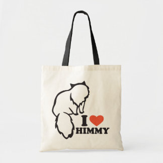 I love Himmy Tote Bag