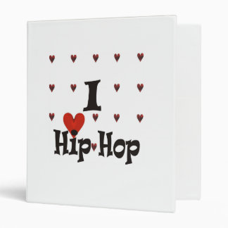 I love Hip Hop Vinyl Binders