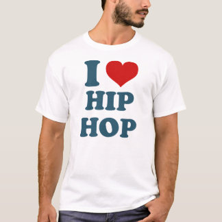I Love Hiphop Shirt