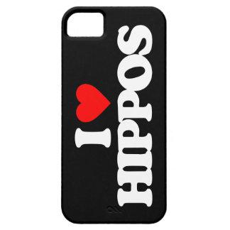 I LOVE HIPPOS iPhone 5 CASE