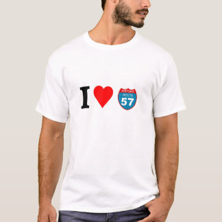 I love Historic Route 57 T-Shirt