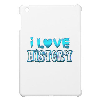 I Love History Cover For The iPad Mini