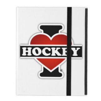 I Love Hockey iPad Cover