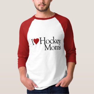 I Love Hockey Moms (Sarah Palin) T-Shirt