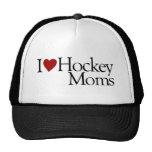 I Love Hockey Moms (Sarah Palin) Trucker Hats