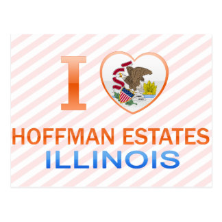 I Love Hoffman Estates, IL Postcard