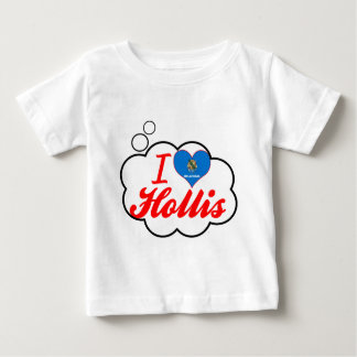 I Love Hollis, Oklahoma Baby T-Shirt