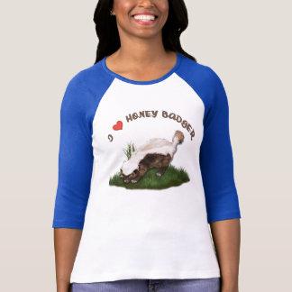 I Love Honey Badger T-Shirt