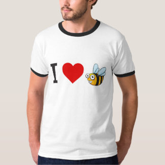 I Love Honeybees T-Shirt