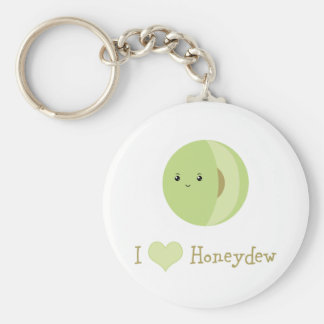 I love Honeydew Keychain