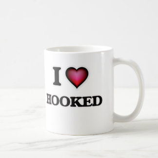 I love Hooked Coffee Mug