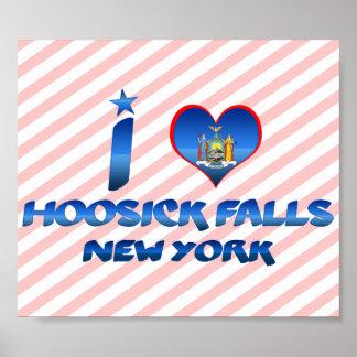 I love Hoosick Falls, New York Print