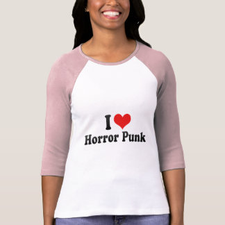 I Love Horror Punk T-shirts