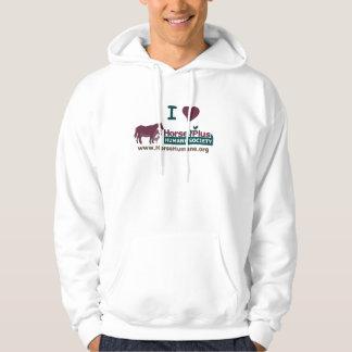 I Love Horse Plus - Hoodie