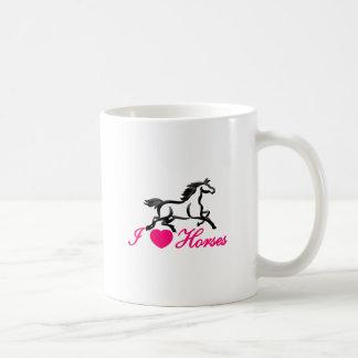 I Love Horses Coffee Mug