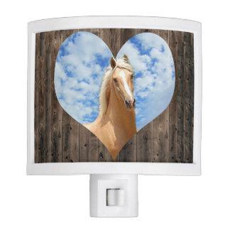 I Love Horses Night Light