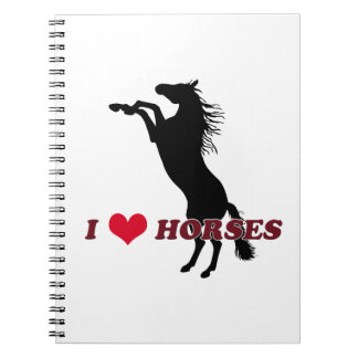 I Love Horses - Rearing Note Books
