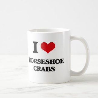 I Love Horseshoe Crabs Coffee Mug
