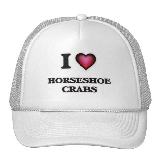 I Love Horseshoe Crabs Trucker Hat