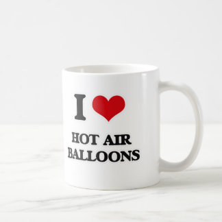 I Love Hot Air Balloons Coffee Mug