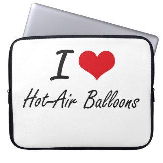 I love Hot-Air Balloons Laptop Computer Sleeves