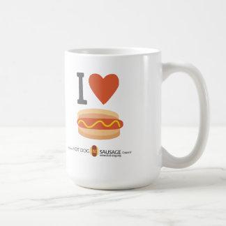 I love Hot Dogs Coffee Mug