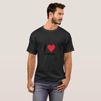 I Love Hot Moms Funny Gift T-Shirt