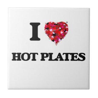 I Love Hot Plates Tiles