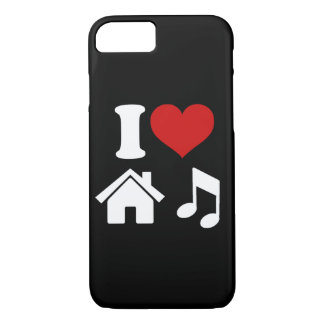 I Love House Music Case-Mate iPhone Case