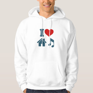 I Love House Music Pullover