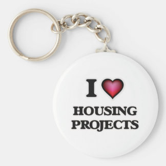 I love Housing Projects Keychain