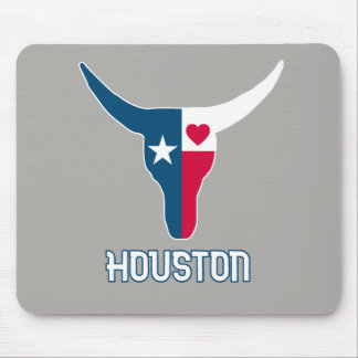 I love Houston. I love Texas Mouse Pad