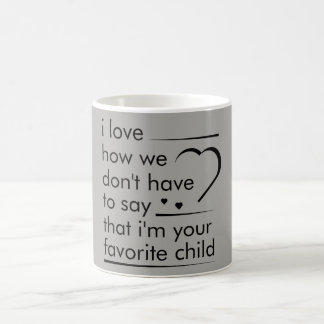 i love how we don't have to say mug gift for dad