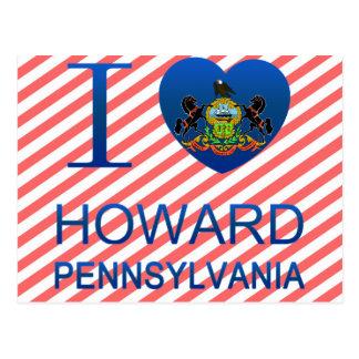I Love Howard, PA Postcard