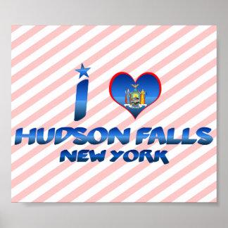 I love Hudson Falls, New York Print