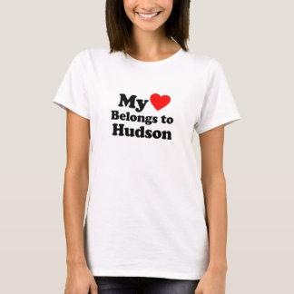 i love Hudson T-Shirt